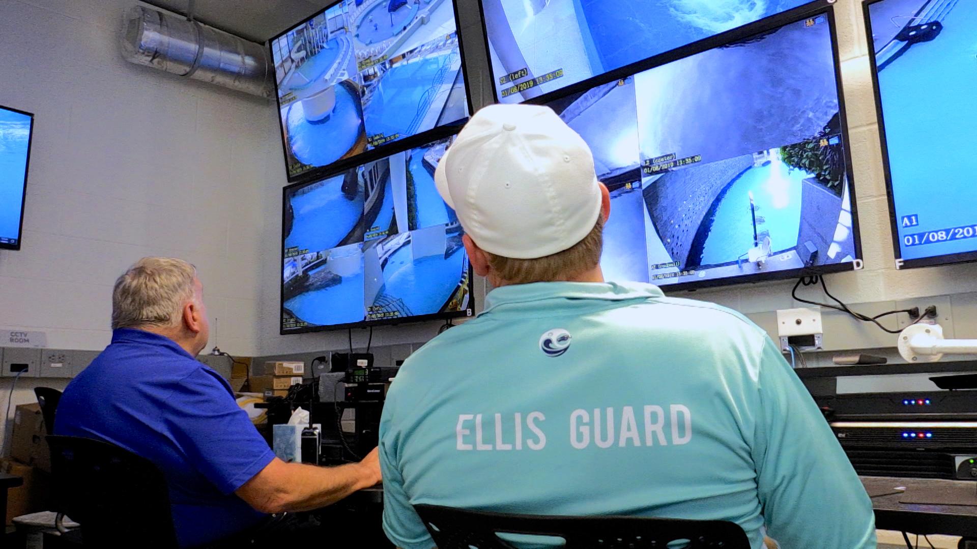 monitoring Ellis Aquatic Vigilance System